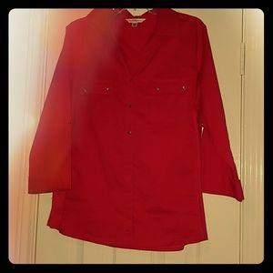 Croft and Barrow red shirt